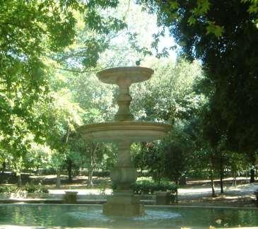 Springbrunnen im Park der Villa Borghese, Rom